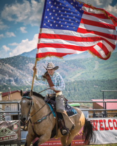 Rodeo Royalty, Ouray County Rodeo