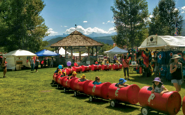 Ridgway Rendezbous fun for all ages