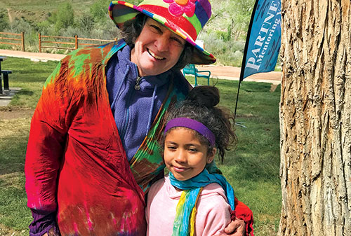 Art partners mentors youth in Montrose, Delta, and Ouray counties.