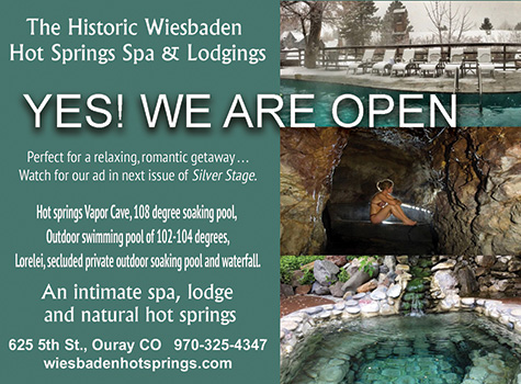 Wiesbaden Hot Springs & Lodging, Ouray CO