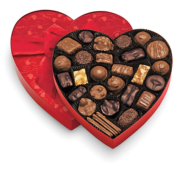 Heart Shape Box of Chocolate