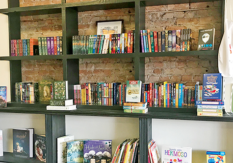 Maggies Bookstore Wall